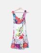 vestido tirantes estampado multicolor 101 Idees