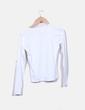 "Camiseta blanca print ""Only"" de cuadros ONLY"