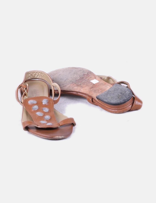 Mujer Caballo Sandalia Plana Wqxt0rpgz Zapatos De Detalle El Marrón  Pedrería pqxZCB db218db2537
