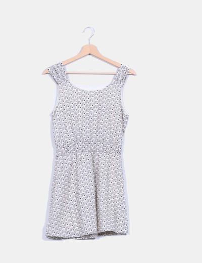 Vestido print zebra NoName