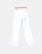 Pantalón deportivo blanco recto Fórmula Joven