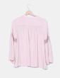 Blusa rosa palo combinado crochet VILA
