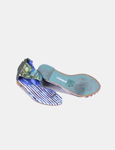 Sandalias estampadas
