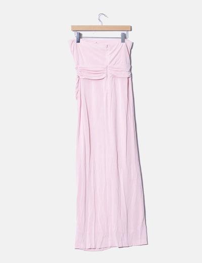 servicio duradero Boutique en ligne 2019 mejor venta Maxi vestido rosa palo