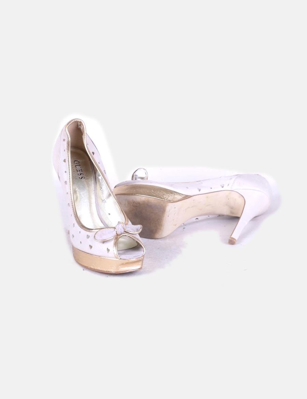 cc84db5fce sarkú Bicolor Cipő Toe Lábujj Guess Női Póló wnPv14a