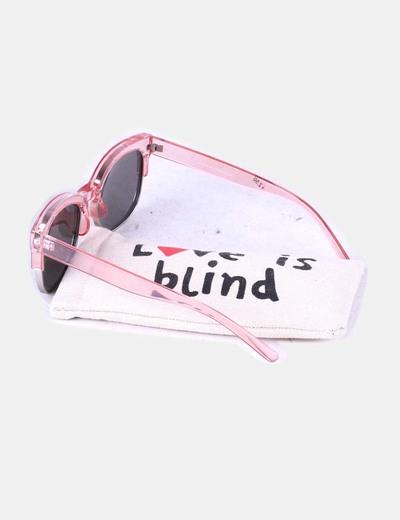 25b3c74c4cffe NoName Gafas de sol montura rosa transparente y cristal espejo (descuento  68%) - Micolet