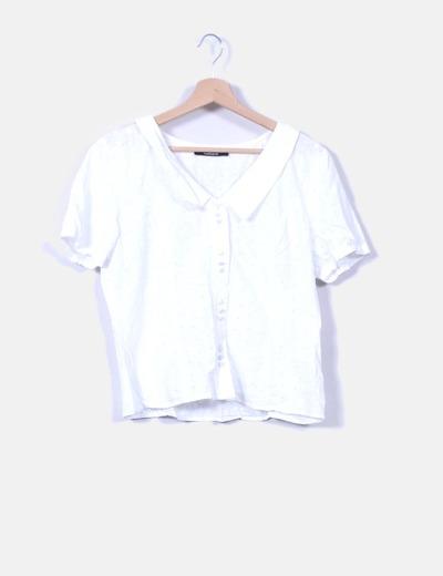 Camisa de manga corta calada  La chemiserie cacharel