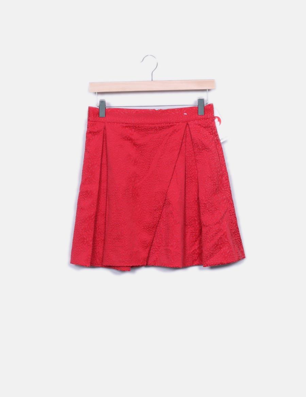 75e5450d40 Faldas Falda texturizada online roja mini Suiteblanco baratas IqrIzF ...