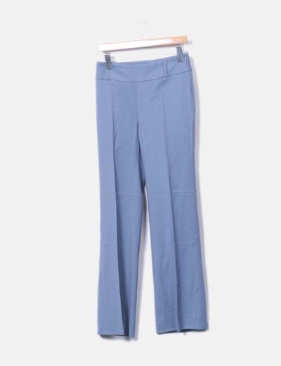 Traje gris de pantalón y blazer Zara