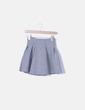 Minifalda gris jaspeada Pull&Bear