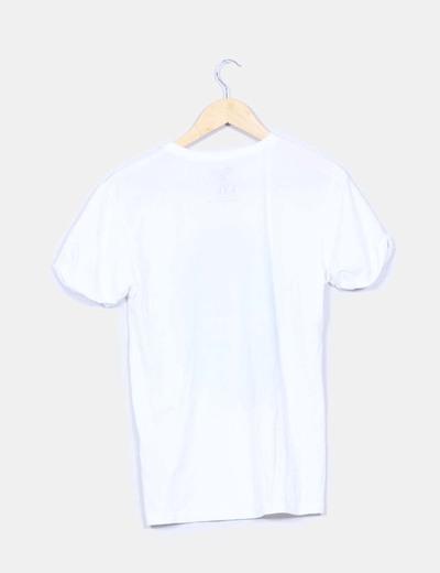 Camiseta blanca print breaking bad