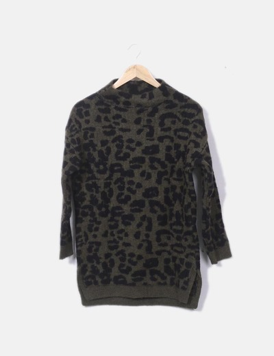 Jersey tricot animal print