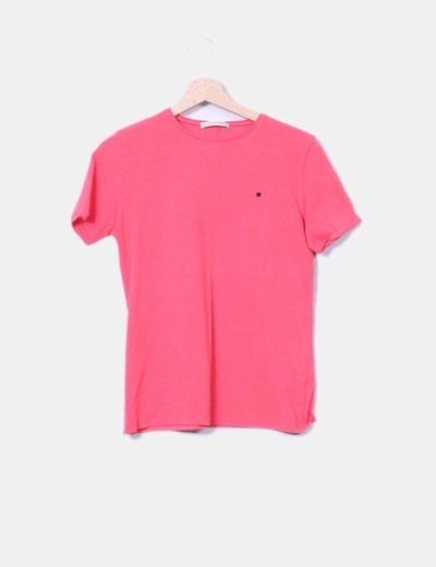 Camiseta color coral