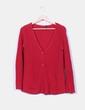 Cárdigan rojo Zara