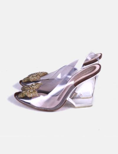 Sandálias de tacão Magrit