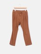 Pantalón de pinzas marrón NoName