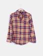 Camisa de cuadros multicolor Topshop