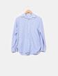 Blusa larga azul a rayas  NoName