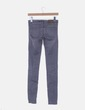 Jeans denim gris ripped Zara