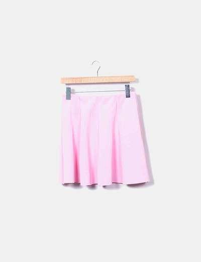 Mini-jupe rose NoName