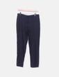 Pantalón chino azul marino Massimo Dutti