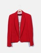 Blazer roja texturizada Zara