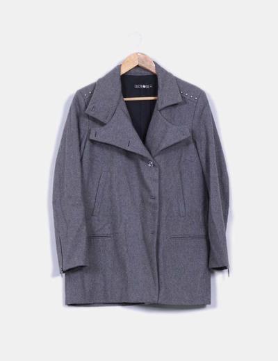 Abrigo gris NoName