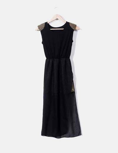 Asymmetrical combined dress NoName