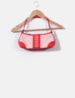 Bolso mini rojo y blanco Pedro del Hierro