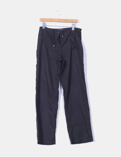 Pantalón suelto negro  Desigual