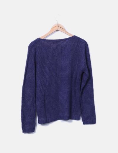 Terranova jersey de punto azul descuento 75 micolet - Terranova ropa ...