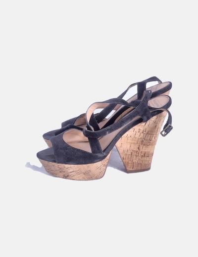 Sandales à talons Pull&Bear