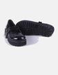 Zapato negro con hebilla Schuh