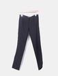 Pantalón chino negro Bershka