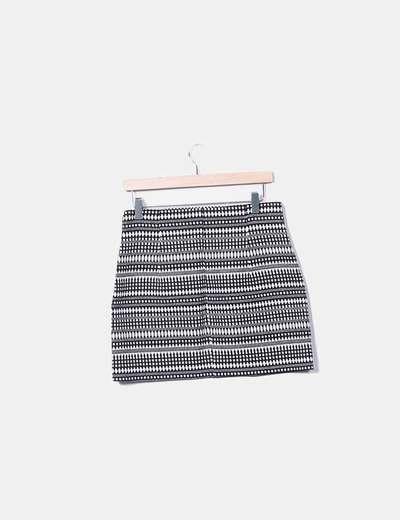 92fcceeccb Zara Falda de tubo etnica (descuento 72%) - Micolet