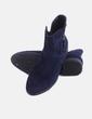 Botín azul marino con cremallera Clowse