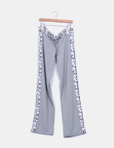 662a65f284 Adriana Arango Conjunto top y pantalón deportivo elástico gris animal print  (descuento 82%) - Micolet