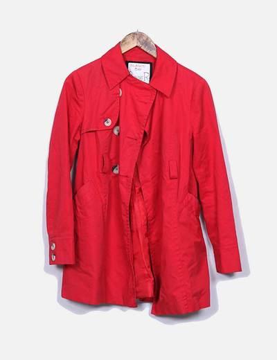 Capa de chuva vermelha Suiteblanco