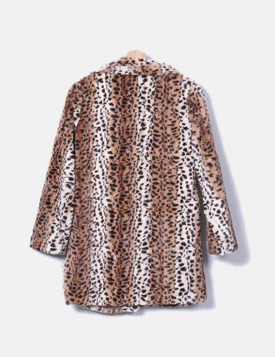 zapatos de separación bf638 857dd Abrigo pelo leopardo