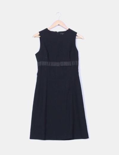 Vestido executive negro Zara