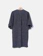 Vestido tricot gris jaspeado Zara