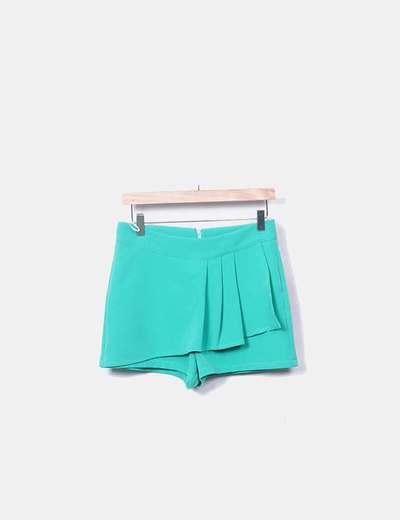 Falda pantalón verde