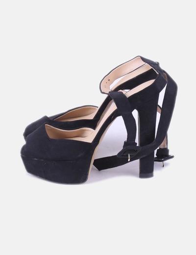 52981bf9 Zara Sandalia negra plataforma (descuento 75%) - Micolet