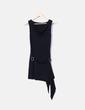 Vestido midi negro NoName
