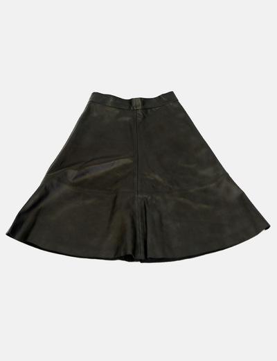 Falda vuelo piel H&M trend