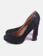 Zapato negro tacón Clara's