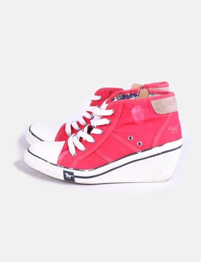 Chaussures à talons rouges compensés Mustang