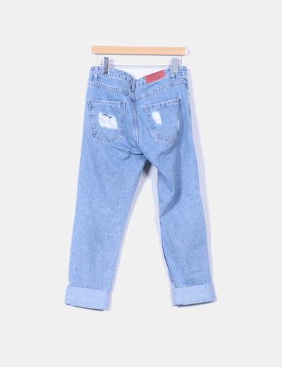 última selección de 2019 precios de liquidación 2020 Jeans boyfriend con rotos