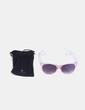 Gafas de sol rosas y blancas Visionlab
