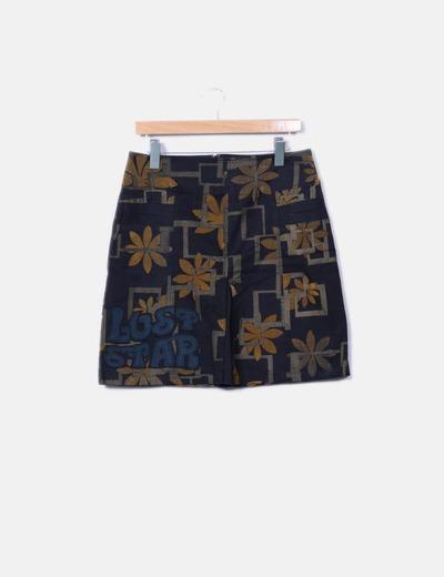 Minifalda texturizada Custo Barcelona